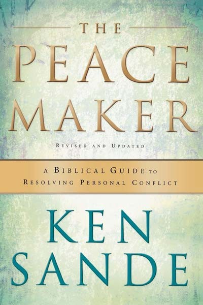The Peacemaker by Ken Sande book cover