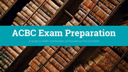 ACBC Exam Prep Slide Coversheet