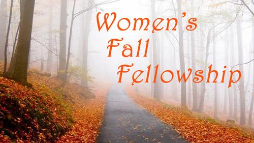 Details / Registration 2019 Women's Fall Fellowship