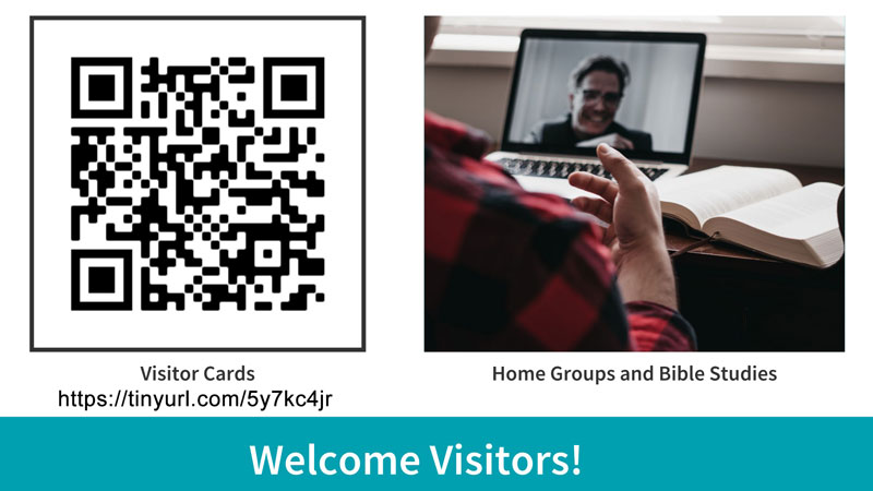 Welcome Guest Visitor Form