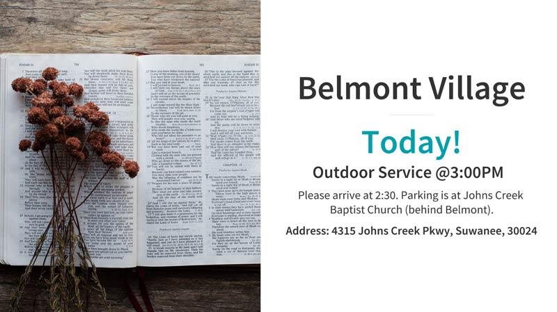 Belmont Village Today