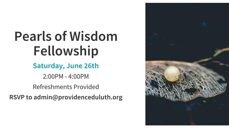 Pearls of Wisdom Fellowship