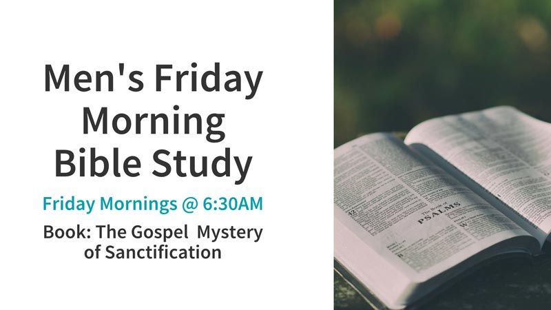 Men's Friday Morning Bible Study