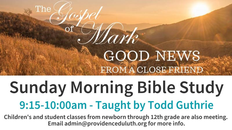 Sunday School Bible Study