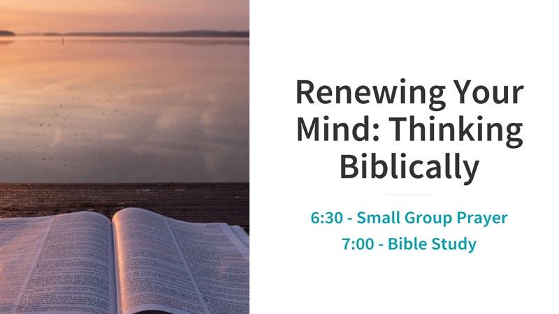 Wed Bible Study
